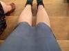 Drehpause und bequeme Schuhe