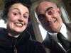 Thomas Chabrol und ich beim Selfiespaß in der Drehpause