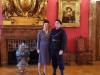 Miliz und Mme de Brinon